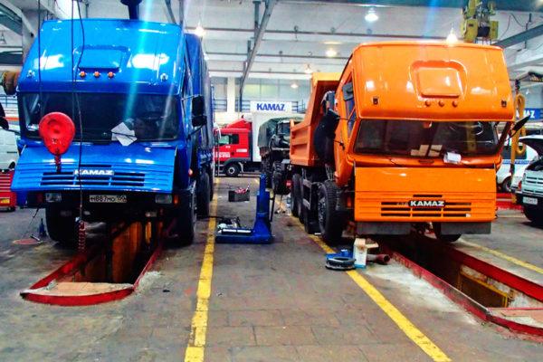 Ремонт, обслуживание грузовиков
